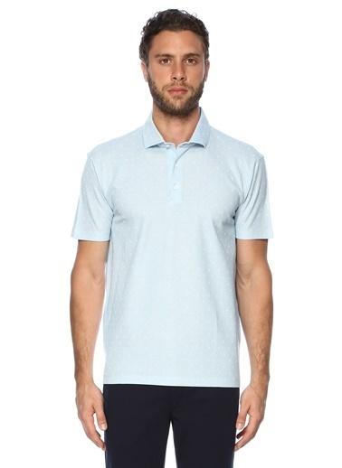 George Hogg Erkek  Tişört 7003315 Mavi